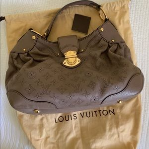 Authentic Louis Vuitton Mahina Hobo Bag